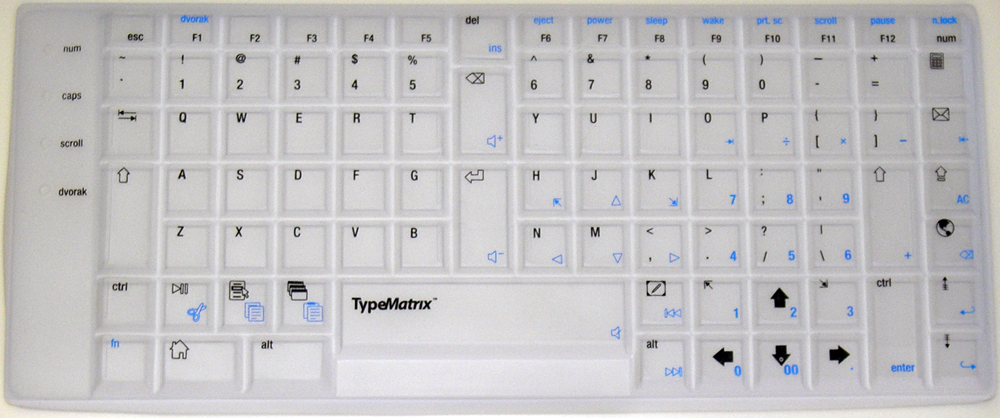 English Qwerty Translucent