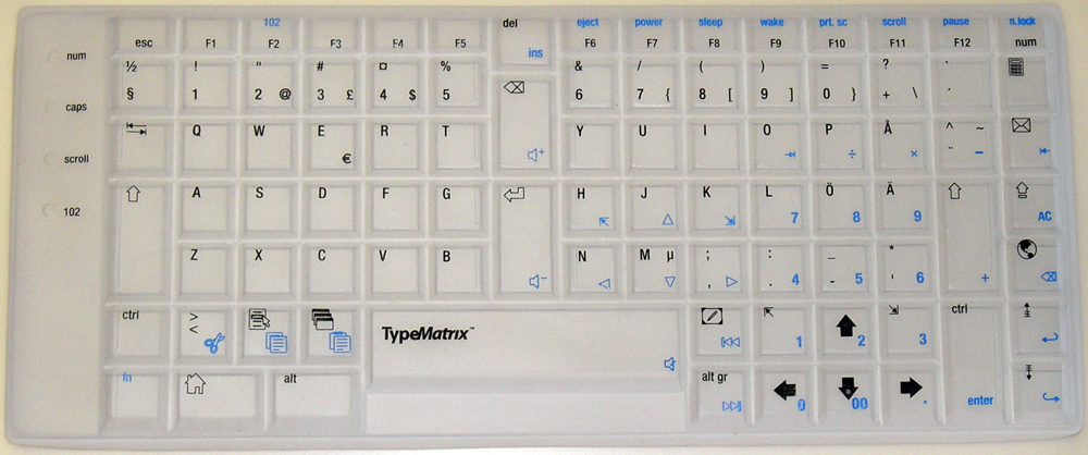 Swedish Qwerty Translucent