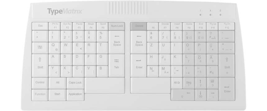 TypeMatrix 2020 PS/2 Keyboard
