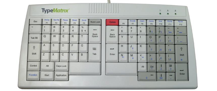 TypeMatrix 2020 EN - QWERTY