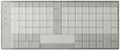 TypeMatrix 2030 Skin - Clear Blank Skin (022-C)