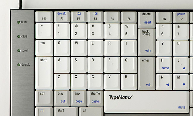 TypeMatrix - The Keyboard is the Key