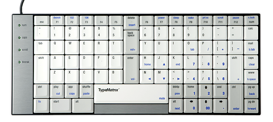 The Type Matrix Keyboard
